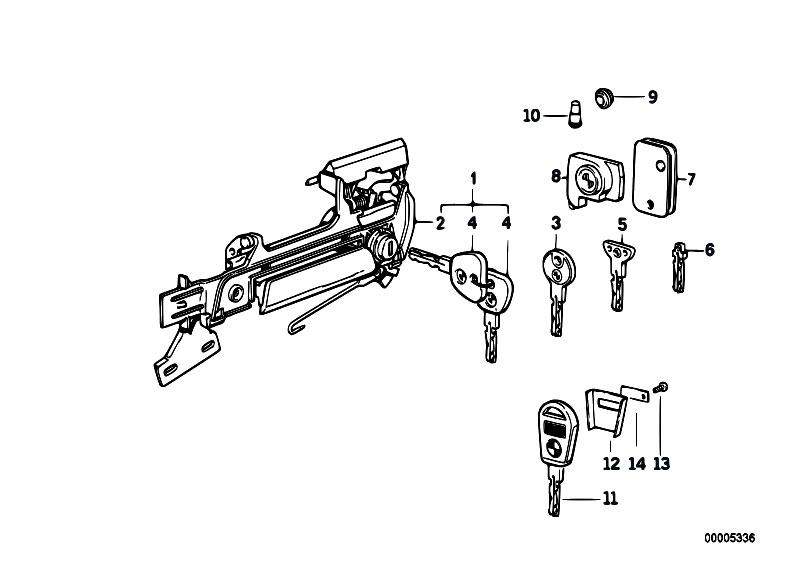 original parts for e32 730il m60 sedan    bodywork   door