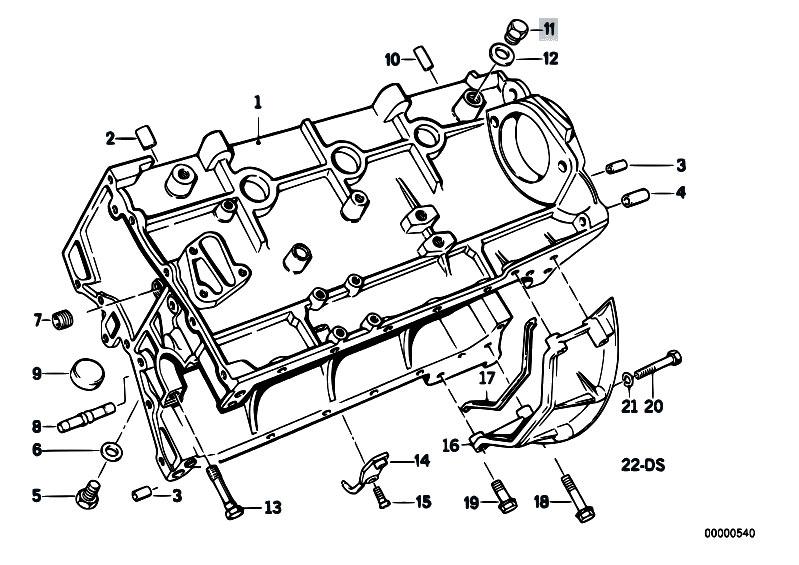 Original Parts For E30 M3 S14 Cabrio Engine Block Estore