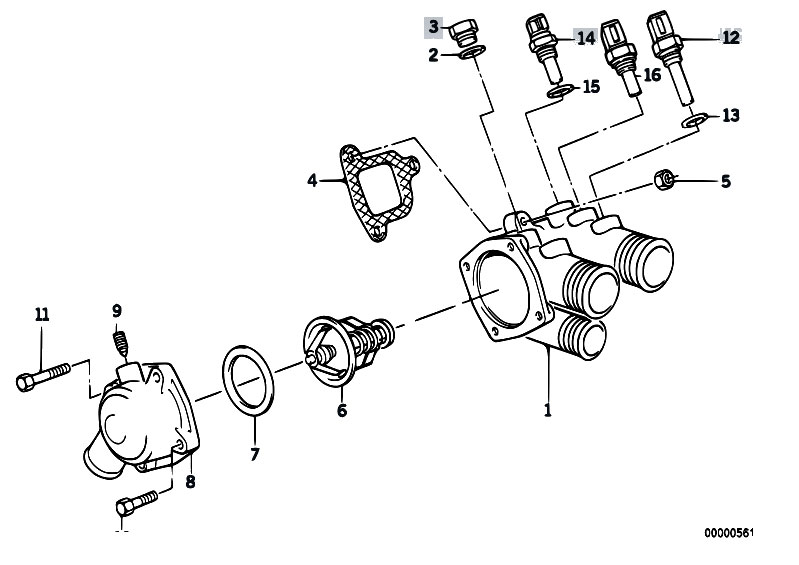 Original Parts for E32 730i M30 Sedan / Engine/ Cooling ... on m44 engine diagram, h1 engine diagram, g20 engine diagram, m20 engine diagram, m96 engine diagram, fx45 engine diagram, m54 engine diagram, m104 engine diagram, m52 engine diagram, m10 engine diagram, m50 engine diagram, m45 engine diagram, m62 engine diagram, m60 engine diagram, m42 engine diagram,