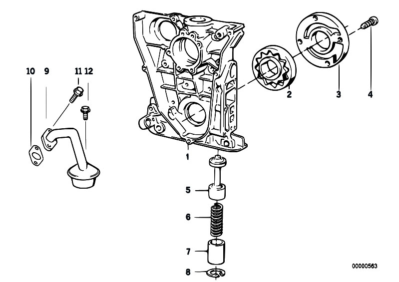 original parts for e36 316i m43 touring    engine