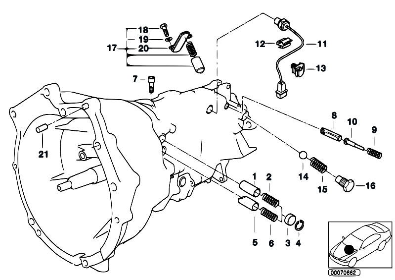 S6s420g Inner Gear Shifting Parts on E46 M3 Clutch And Transmission Diagram