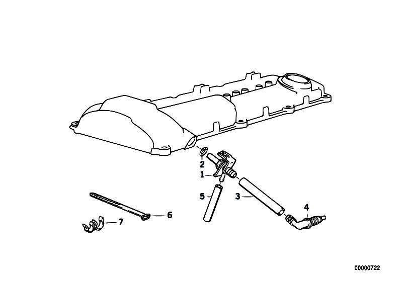 original parts for e36 320i m50 sedan    engine   crankcase