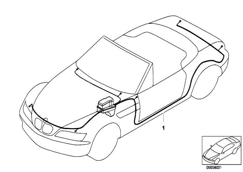 Original Parts For Z3 Z3 2 2i M54 Roadster Vehicle Electrical