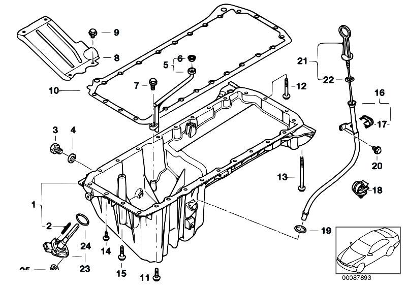 original parts for e38 730d m57 sedan    engine   oil pan