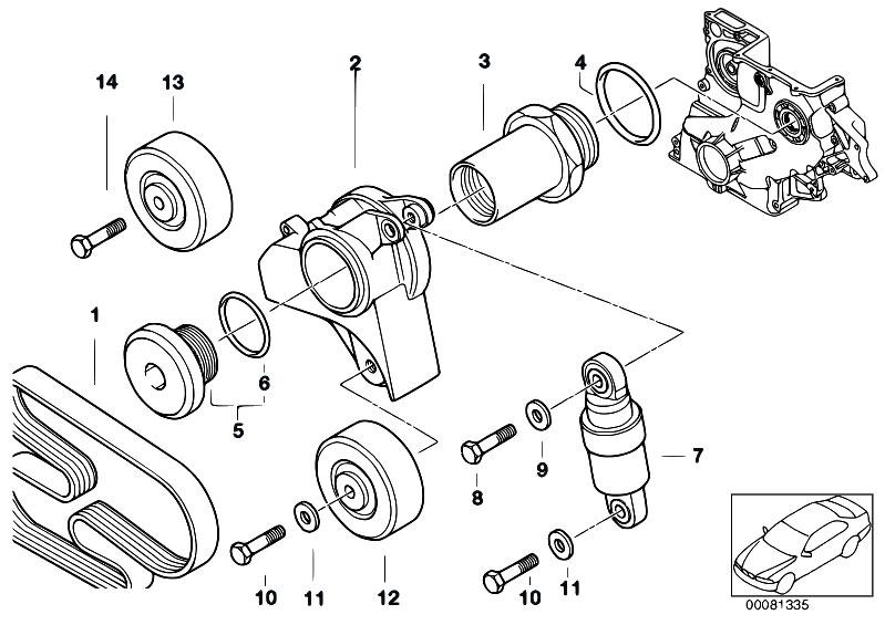 Genuine Screw Plug BMW E34 E36 E38 E39 E46 318d 318tds 320d 325td 11282243508