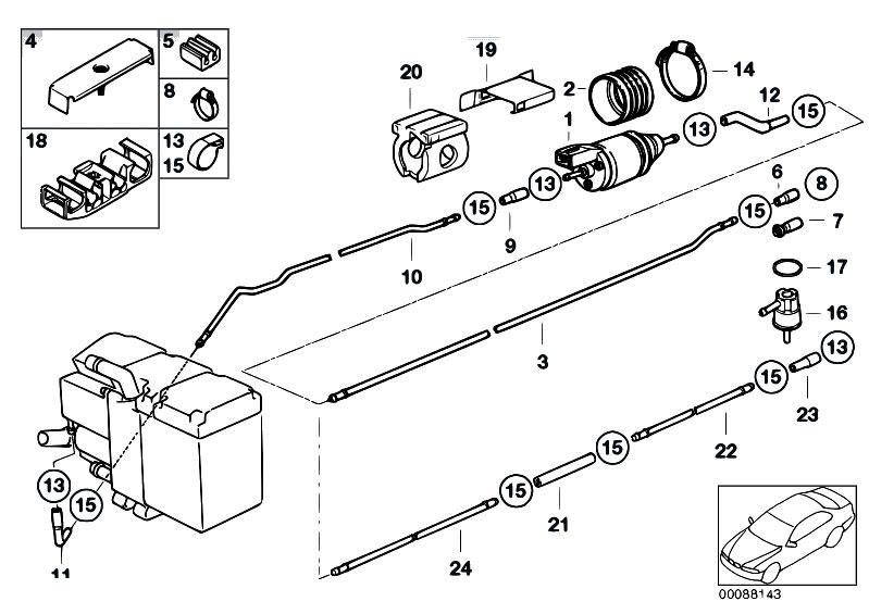 bmw 540i heater diagram