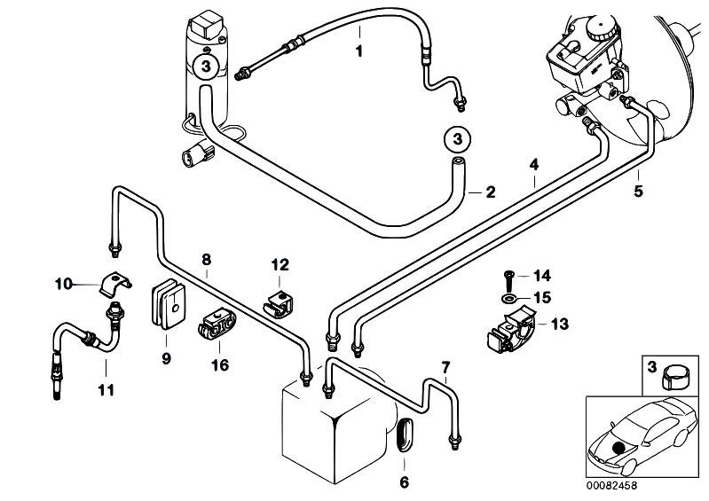 Original Parts For Z3 Z3 2 0 M52 Roadster Brakes Front