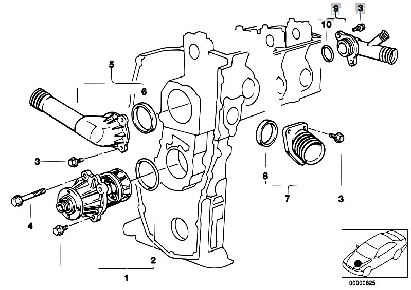 original parts for e36 318i m43 touring    engine