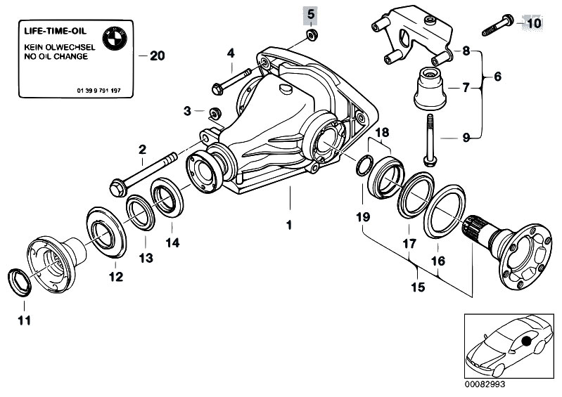 e38 bmw suspension diagram