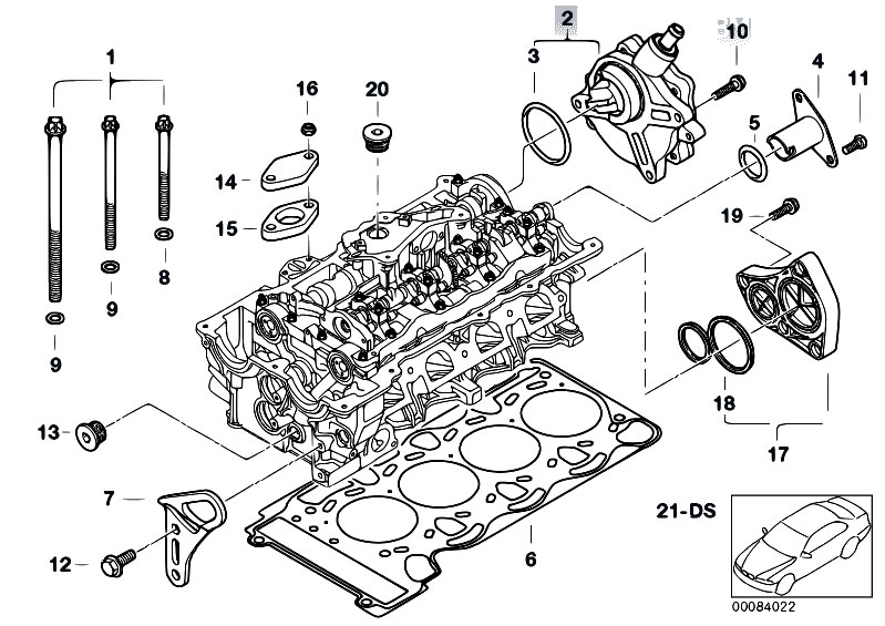 Original Parts For E46 316ti N42 Pact Engine Cylinder Head Rhestorecentral: Bmw 6 Cylinder Engine Diagram At Gmaili.net