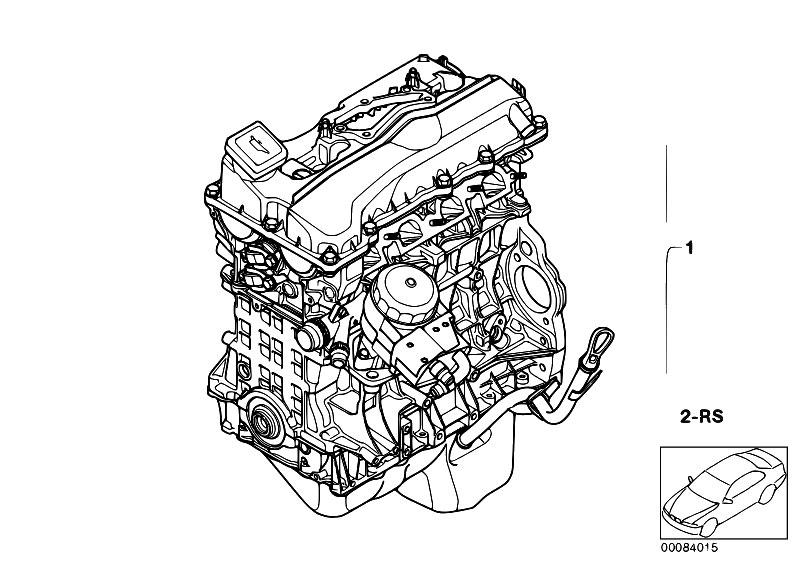 original parts for e46 316i n46 touring    engine   short