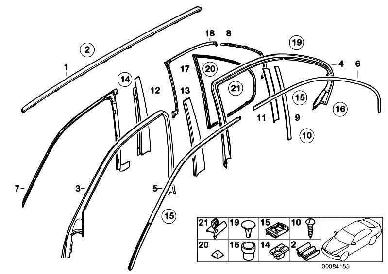 Original Parts For E39 520d M47 Sedan    Vehicle Trim   Door