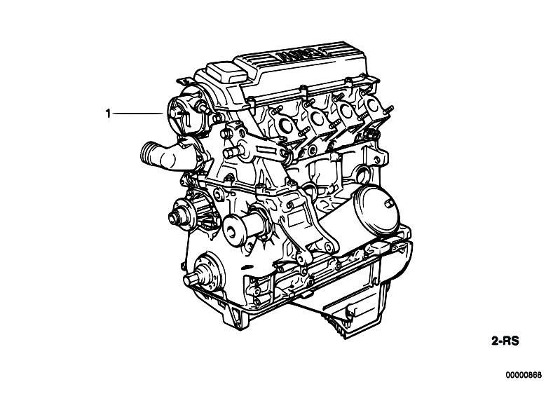 original parts for e36 318tds m41 touring    engine   short