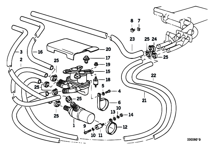 original parts for e34 525i m50 touring    heater and air