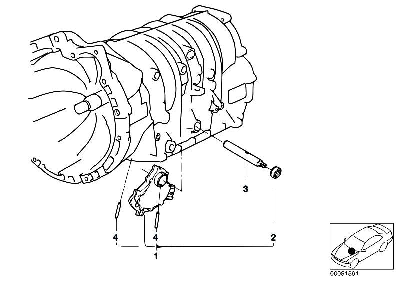Original Parts For E46 316i 1 9 M43 Sedan Automatic Transmission
