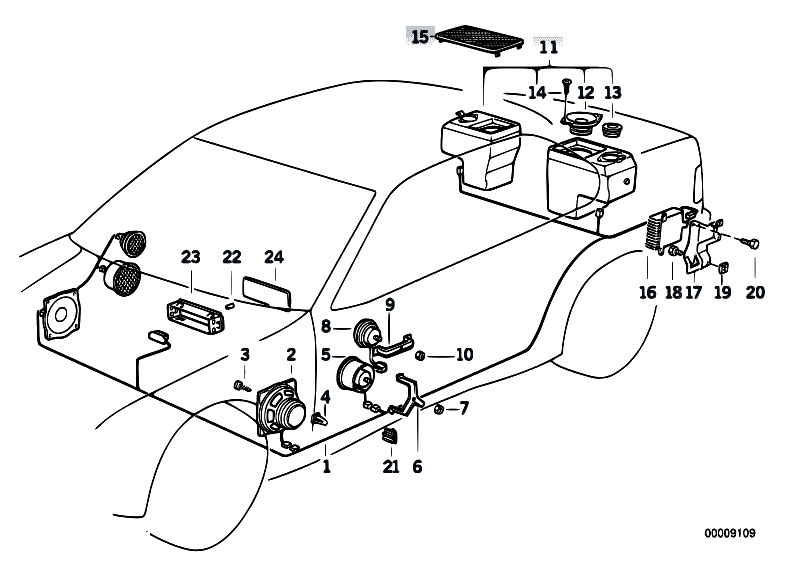 otewov9w original parts for e36 320i m50 sedan audio navigation Ford Radio Wiring Diagram at suagrazia.org