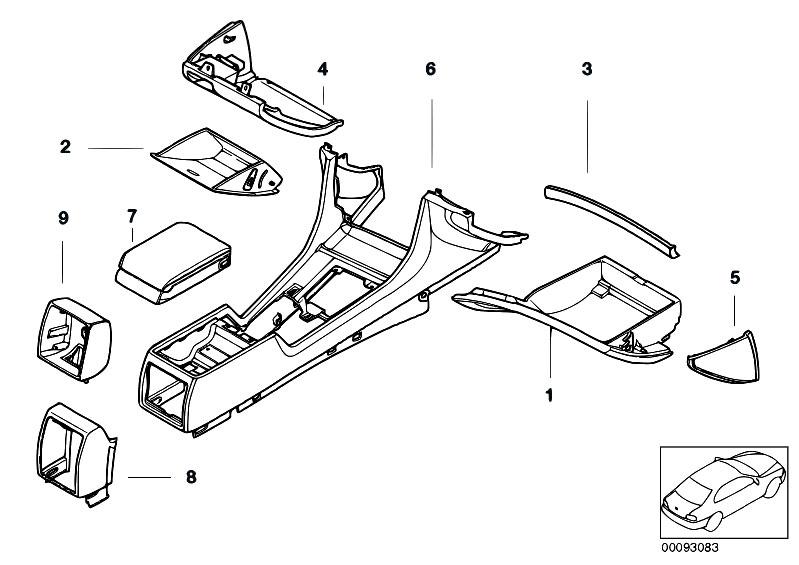 Original Parts For E38 740il M62 Sedan    Individual