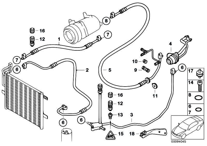 Original Parts For E46 316i 1 9 M43 Sedan    Heater And Air