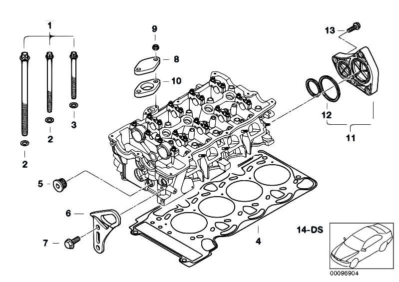 original parts for e90 316i n45 sedan    engine   cylinder