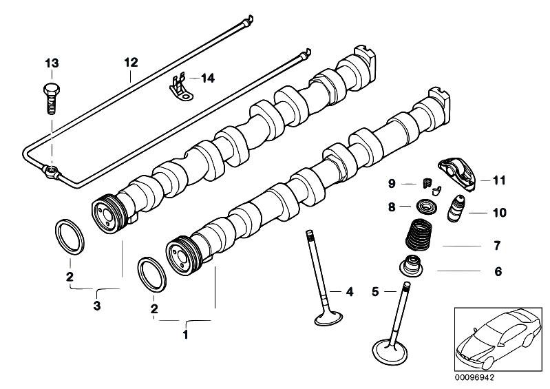 original parts for e90 316i n45n sedan    engine   valve