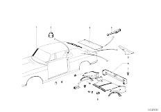 114 2000 M10 Touring / Vehicle Trim Trim Panel Trunk Floor-2