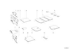 114 2000 M10 Touring / Vehicle Trim Sound Insulation