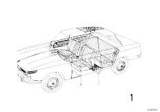 114 2000 M10 Touring / Vehicle Trim Running Meter Cloth