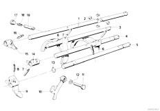 E30 318i M10 4 doors / Manual Transmission/  Getrag 242 Inner Gear Shifting Parts