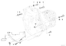 E30 318i M10 4 doors / Manual Transmission/  Gearbox Mounting Parts