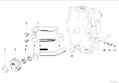 E30 318i M10 4 doors / Manual Transmission/  Zf S5 16 Inner Gear Shifting Parts