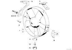Radiator on E46 M3 Clutch And Transmission Diagram