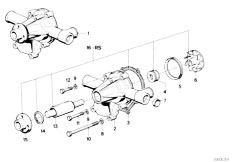 original parts for e30 m3 s14 cabrio    engine   timing and