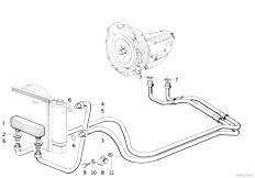 E36 316i M40 Sedan / Radiator Transmission Oil Cooling