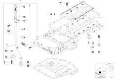 original parts for e39 540i m62 touring    engine   lubricat