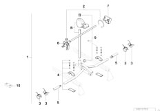 E38 750iLS M73 Sedan / Universal Accessories Bicycle Lift