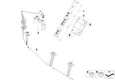 E85 Z4 2.0i N46 Roadster / Audio Navigation Electronic Systems Single Parts F Antenna Diversity