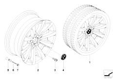 E92 323i N52N Coupe / Wheels Bmw La Wheel V Spoke 285