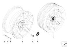 E92 323i N52N Coupe / Wheels Bmw La Wheel Star Spoke 286