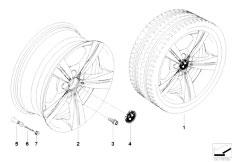 E92 323i N52N Coupe / Wheels Bmw La Wheel Star Spoke 287