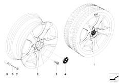 E92 323i N52N Coupe / Wheels Bmw Lm Rad Sternspeiche 311