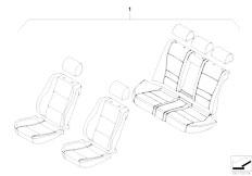 E46 M3 CSL S54 Coupe / Seats Seat Cover Bmw Design