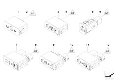 E83N X3 2.0d M47N2 SAV / Vehicle Electrical System/  Usb Aux In Socket