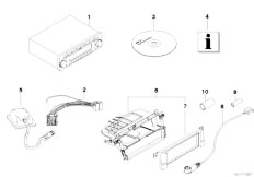E46 316ti N42 Compact / Audio Navigation Electronic Systems/  Ersatzteile Radionavigation-2