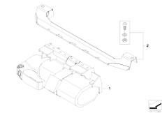 E92 335i N54 Coupe / Restraint System And Accessories Fire Extinguisher