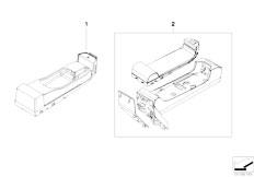 E63 645Ci N62 Coupe / Communication Systems/  Single Parts Sa639 Sa664 Centre Console