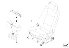 E83 X3 2.0d M47N2 SAV / Seats/  Front Seat