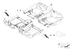 E65 730i M54 Sedan / Vehicle Trim Floor Covering