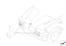 E83N X3 2.0d M47N2 SAV / Vehicle Electrical System/  Retrofit Kit Headlight Cleaning System