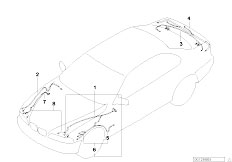 E39 520i M52 Sedan / Vehicle Electrical System/  Replacement Cable F Main Cable Harness