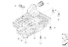E63 645Ci N62 Coupe / Automatic Transmission Ga6hp26z Mechatronik Mounting Parts